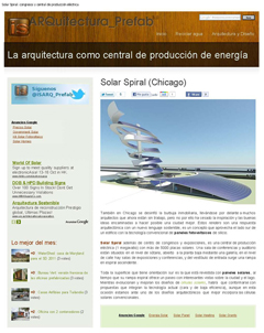 Solar Spiral Chicago - IS-AP July 10, 2011